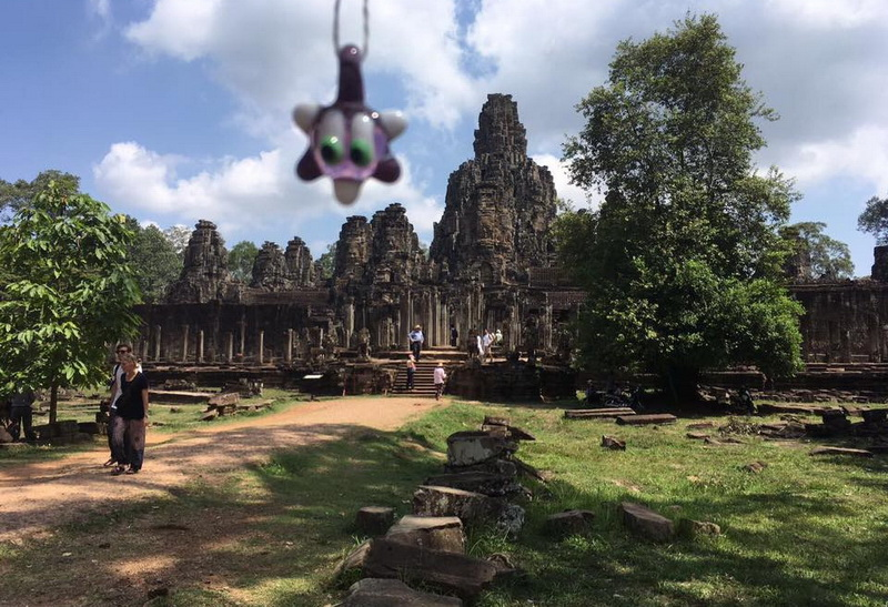 Kambodscha -Tempel Ankor Tom