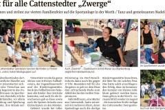 Harzer Volksstimme vom 24.08.2018