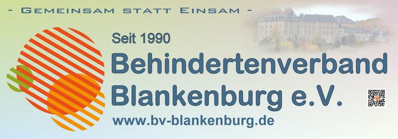 Banner Behindertenverband Blankenburg