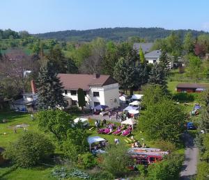 Luftbild vom Hoffestv